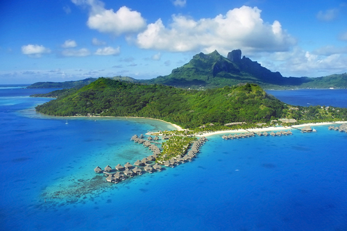 Bora Bora Island, Society Islands, French Polynesia
